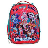 Рюкзак школьный каркасный 1 Вересня Enchantimals, фото 1