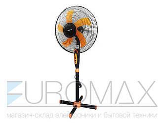 Вентилятор напольный Domotec 36см 40Вт 5 пласт. лоп. таймер MS-1620