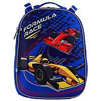 Рюкзак школьный каркасный 1 Вересня Formula Race