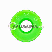 Манжета 6x14x6 (PU Green) (EXL), фото 1
