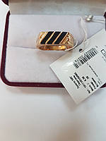 Золотой мужской перстень 585 пробы