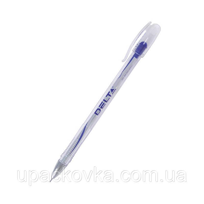 Ручка гелевая Delta DG2020-02, синяя, 0.5 мм