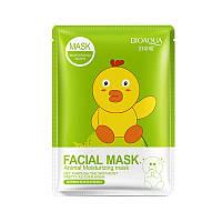 Маска с эссенцией коллагена и граната BIOAQUA Facial Animal Moisturizing Mask (30г)