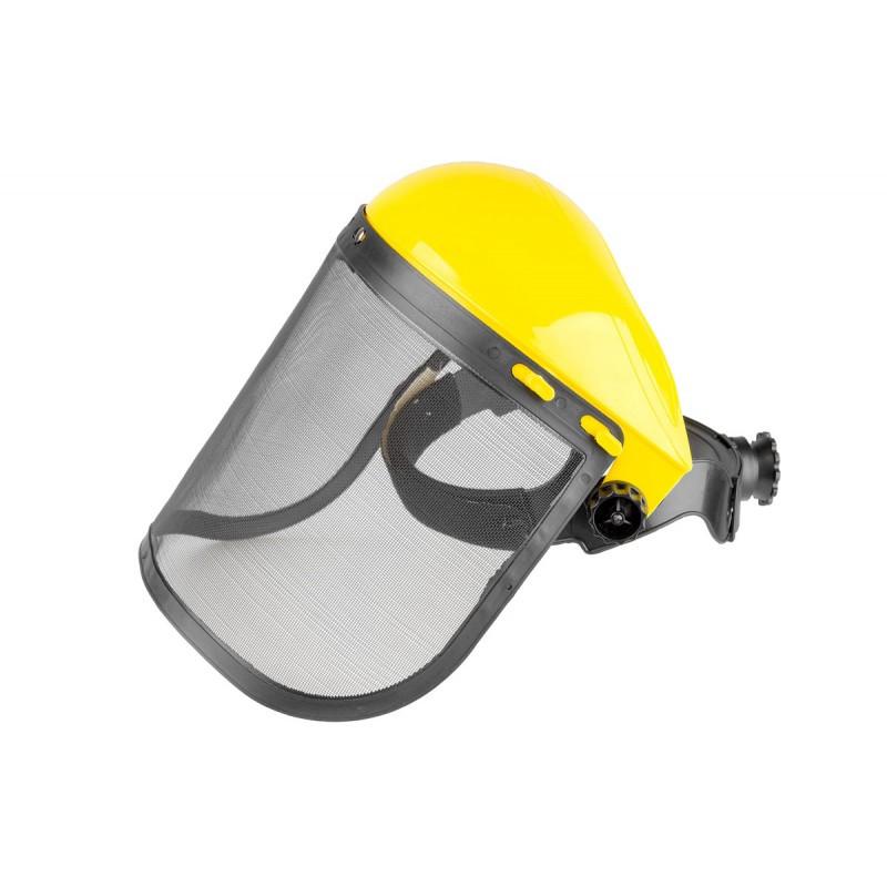 Захисна маска для роботи з садовим інструментом