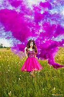 Цветной дым, набор из 3-х шашек, 3 цвета, 70 сек., Цветные дымовые шашки, розовый, фиолетовый, белый