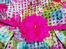 Яркое нарядное пышное платье с поясом для девочки Children's Place (США) (Размер 6-7Т), фото 3