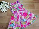 Яркое нарядное пышное платье с поясом для девочки Children's Place (США) (Размер 6-7Т), фото 2