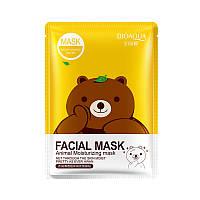 Маска с эссенцией зеленого чая BIOAQUA Facial Animal Moisturizing Mask (30г)