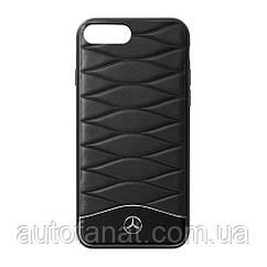 Оригинальный кожаный чехол для iPhone® 7/8 Plus Mercedes Cover for iPhone® 7/8 Plus, Black (B66958619)