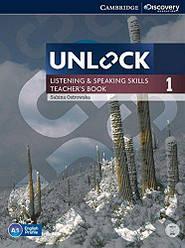 Unlock 1 Listening and Speaking Skills Teacher's Book with DVD