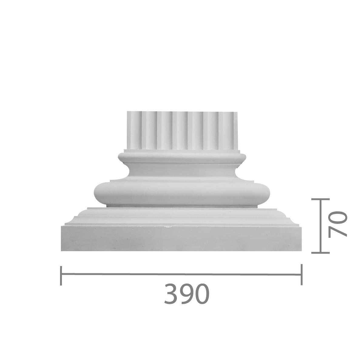 База пилястры б-14