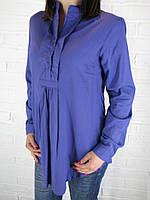 Рубашка женская D 8014 фиолетовая L