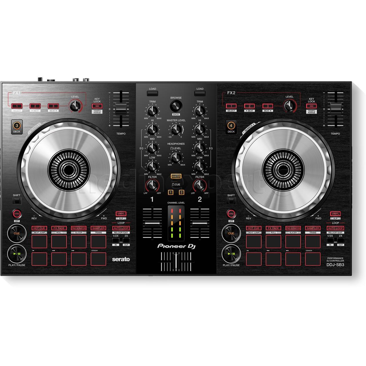 DJ контроллер DJ PIONEER DDJ SB3