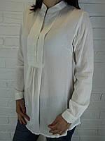 Рубашка женская D 8014 белая