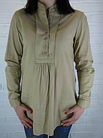 Сорочка жіноча D 8014 гірчична
