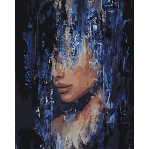 "Картина по номерам ""Интрига художника"" (портет, женщина, муза)"