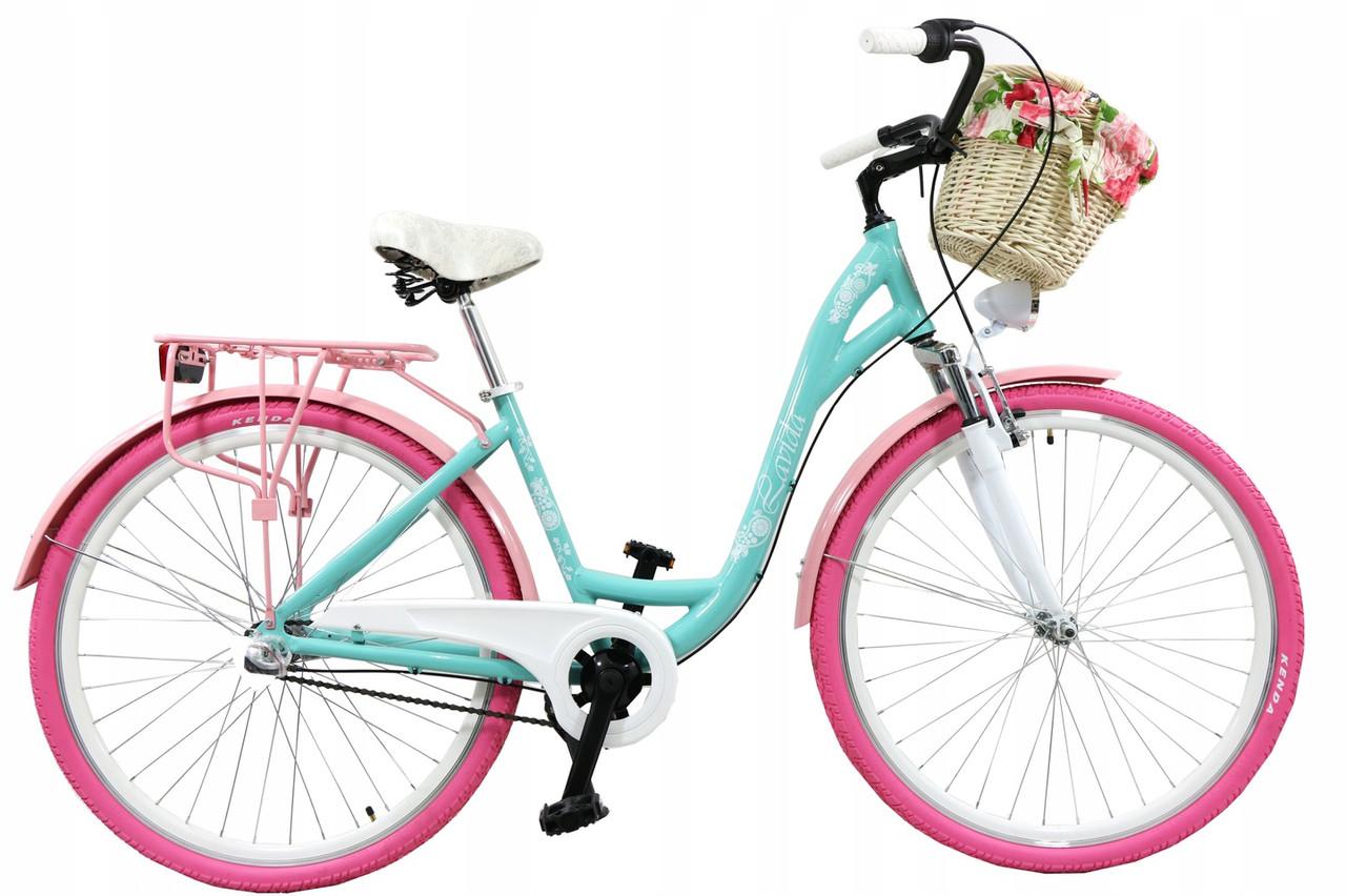 72471f8c42ebd8 Купить Городской велосипед LAVIDA 28 Nexus 3 Pink-Turquoise с ...