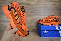 Мужские кроссовки в стиле Adidas Yung -1 Orange/Blue, фото 1