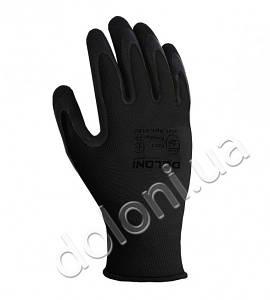 Защитные перчатки с латексным покрытием.DOLONI