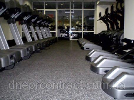 Резиновые спортивные покрытия 8113 для тренажёрных залов , фото 2