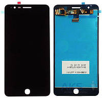 Дисплей (экран) для телефона Alcatel One Touch Pop Up 6044D + Touchscreen Black