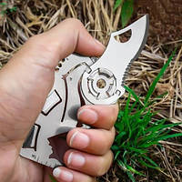 Многофункциональный складной нож-карта, фото 1