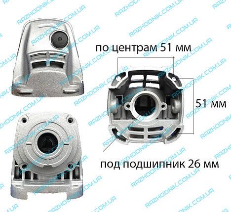 Корпус редуктора на болгарку Dwt 125 T, фото 2