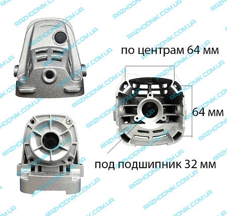 Корпус редуктора на болгарку Dwt 180 t/d, фото 2