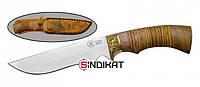 Нож с фиксированным клинком Русский Витязь Галеон, ручная работа (CH 02-1)