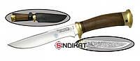 Нож с фиксированным клинком РосОружие Горностай, сталь 95х18, ручная работа (РР 251-ЛОР)