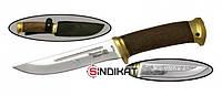 Нож с фиксированным клинком РосОружие Риф, сталь 95Х18, ручная работа (РТ 112-ЛОР)