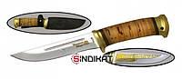 Нож с фиксированным клинком РосОружие Риф, сталь 95Х18, ручная работа (РТ 112-ПБ)
