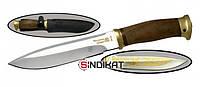 Нож с фиксированным клинком РосОружие Фокс-2, сталь 95Х18, ручная работа (РР 211-ПО)