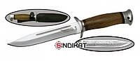 Нож с фиксированным клинком РосОружие Разведчик, сталь 95Х18, ручная работа (РР 249-АОР)