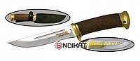 Нож с фиксированным клинком РосОружие Риф, сталь 95Х18, ручная работа (РТ 112-ПО)