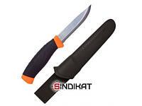 Нож с фиксированным клинком MORA Craftline TopQ Rope, stainless steel (11392)
