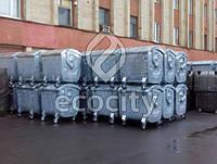 Евро-контейнер ТБО на колесах 1.1 м3