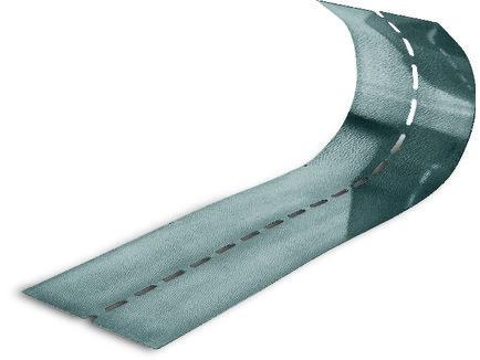 Профіль Knauf Flexibles Eckenprofil гнучкий 100/0.8 50000 мм