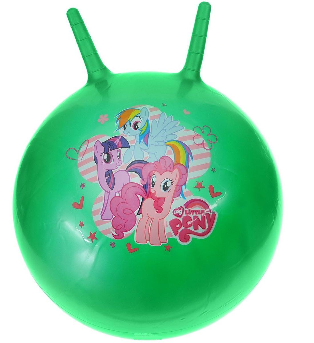 Мяч-попрыгун с рожками, разные цвета