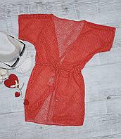 Туника пляжная детская 17809 размеры M,L,ХL, фото 1