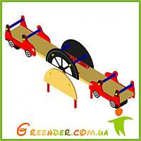 Гойдалка-балансир Машинка детская игровая площадка