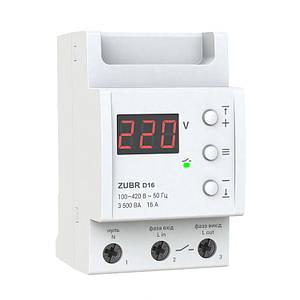 Реле защиты от перенапряжения ZUBR D16A