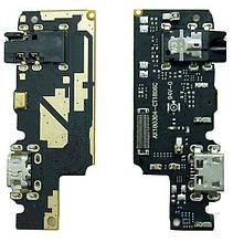 Шлейф Xiaomi Redmi Note 5, з роз'ємом зарядки, роз'єм навушників з мікрофоном,