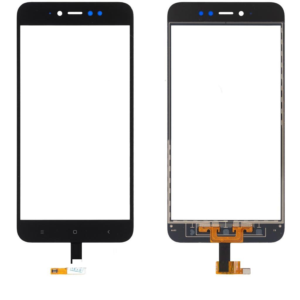 Сенсор (тачскрин) Xiaomi Redmi Note 5A, Redmi Note 5A Prime, Redmi Y1 чёрный
