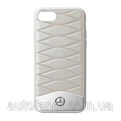 Оригинальній кожаный чехол для iPhone® 7/8 Mercedes Cover for iPhone® 7/8, Grey (B66958622)