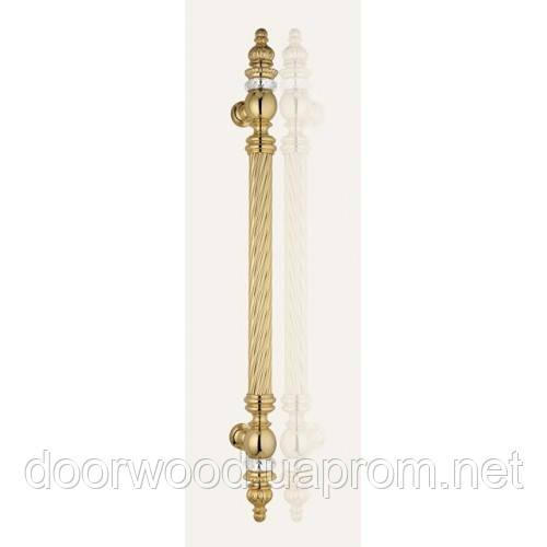 Otello Crystal ручка-скоба 400мм (золото)