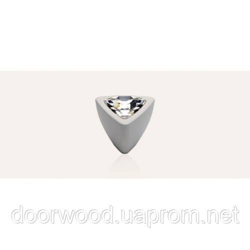 Cometa ручка-кнопка мебельная (белый матовый)
