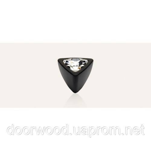 Cometa ручка-кнопка мебельная (матовый черный)