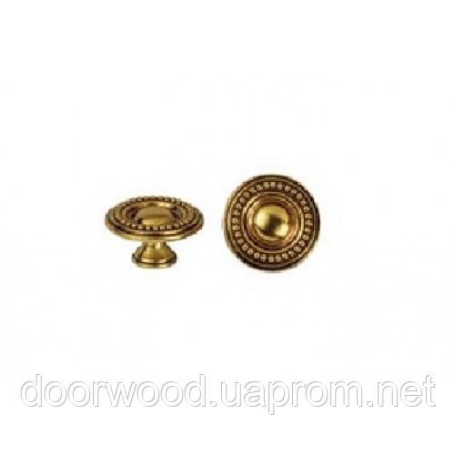 Ручка-кнопка мебельная Giusti (французское золото)