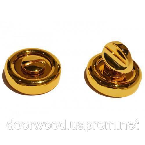 Накладка под WC-фиксатор (золото полированное)